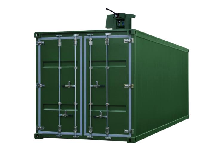 COPS SMVP EN 1143-1 sertifisert vaktrom container